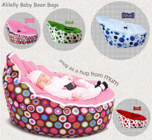 ALILELLY BABY BEANBAGS
