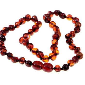 Cherry Amber Baby Necklace