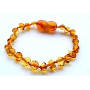 Honey Amber Baby Bracelet