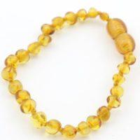 Lemon Amber Baby Bracelet